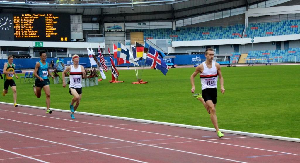 Världsungdomsspelen 800m 2014