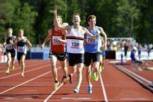 SM 2014 Umeå 1500 meter